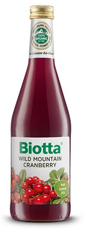 Biotta Mountain Cranberry Nectar - 500mL