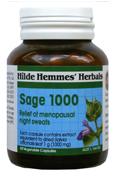 Sage 1,000mg - 60 Capsules